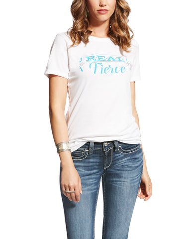 Womens REAL Fierce T-Shirt
