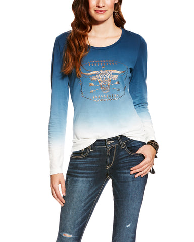 Womens Nordic Long Sleeve T-Shirt