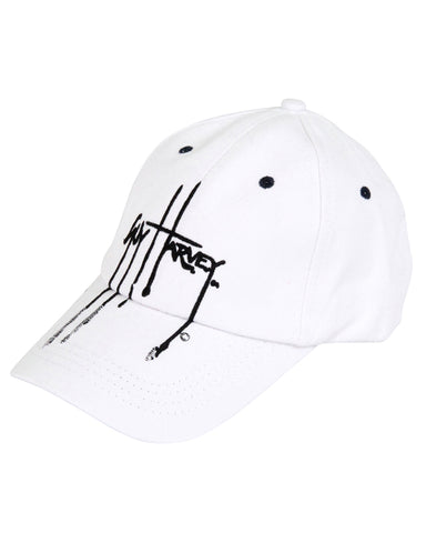Guy Harvey's Haze Ball Cap - White