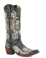 Circle G Embroidered Boots