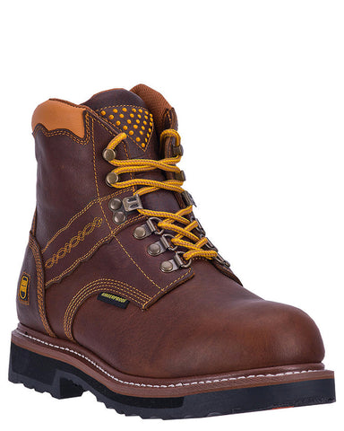 "Mens Gripper 6"" H20 EH Lace-Up Boots"