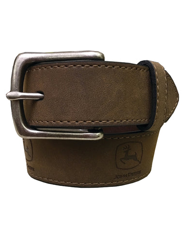 Kid's Logo Leather Belt