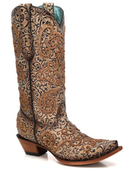 Chameleon Embroidered Boots