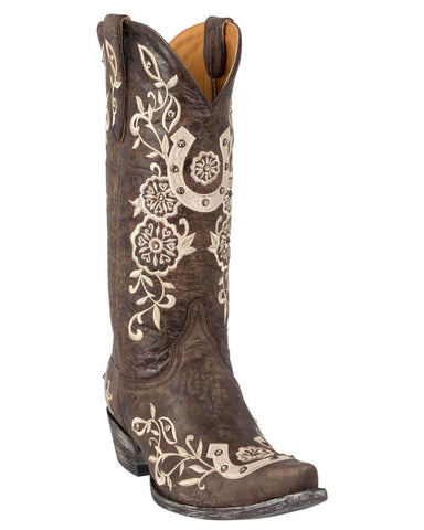 Women's Lucky Embroidered Western Boots