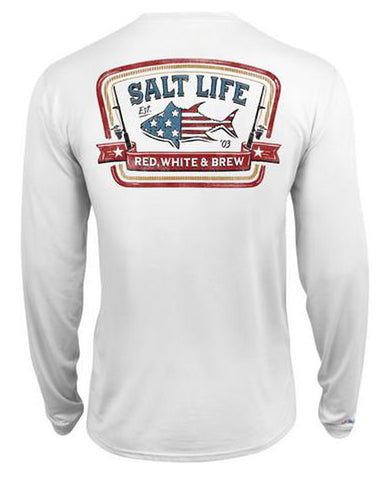 Men's Red White & Brew SLX Long Sleeve T-Shirt