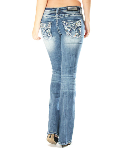 Womens Heavy Stitch Jeans