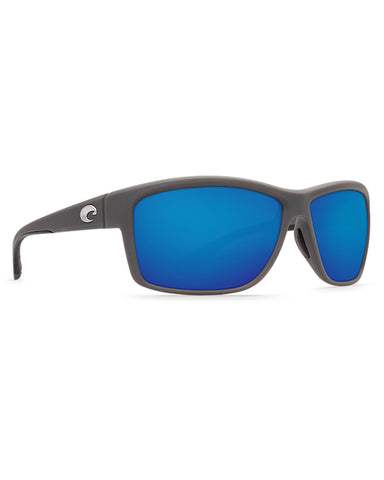 Mag Bay Blue Mirror Sunglasses - Grey