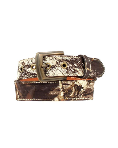 Kids Mossy Oak Camo Belt