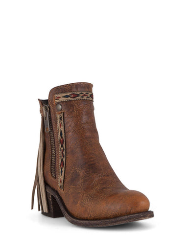 Women's Fringe Short Boots