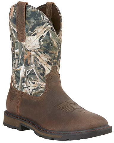 Men's Groundbreaker Boots - Camo
