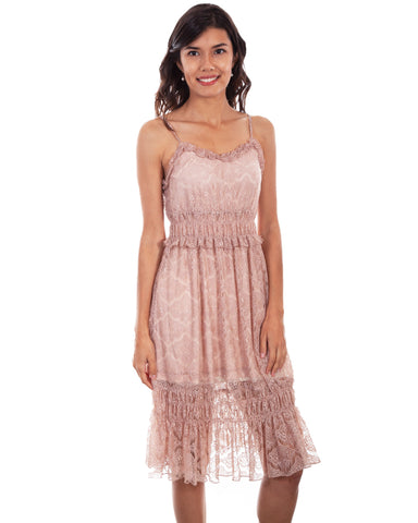 Women's Tiered Lace Dress