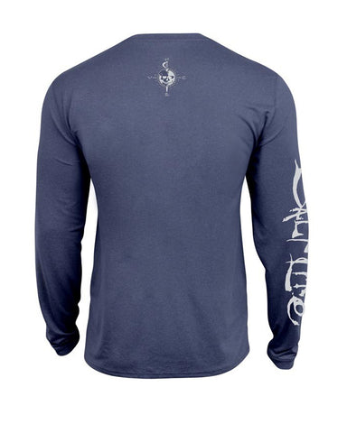 Mens Captain SLX Long Sleeve T-Shirt - Blue