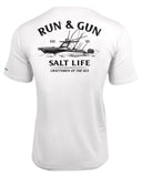 Men's Run & Gun Performance T-Shirt - White