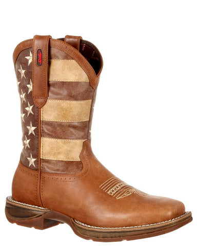 Men's Rebel Faded Glory Flag Boots