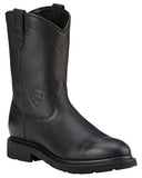 Mens Sierra Pull-On Boots - Black