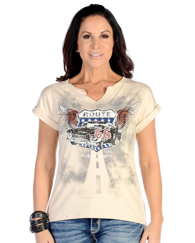 Women's Flying Route 66 T-Shirt