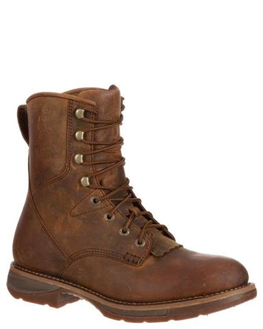Men's Waterproof Steel-Toe Lacer Boots