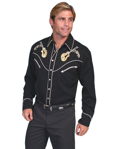 Men's Rock N' Roll Western Shirt