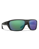 Split Shot Polarized Sunglasses - Blue/Green