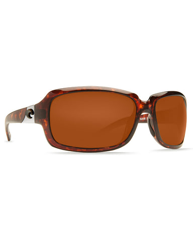 Isabela Copper Mirror Sunglasses