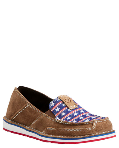 Womens Stars & Stripes Cruiser Shoes