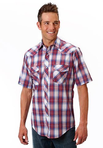 Mens Classic Plaid Shirt