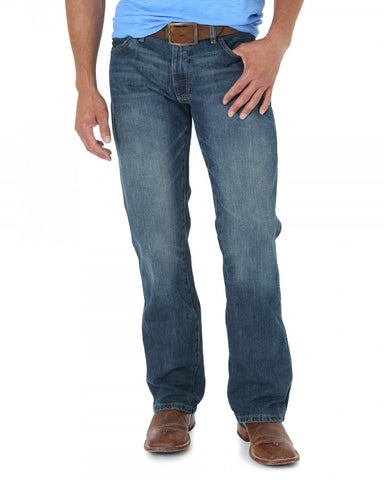 Men's Retro Slim Fit Jeans - Dark