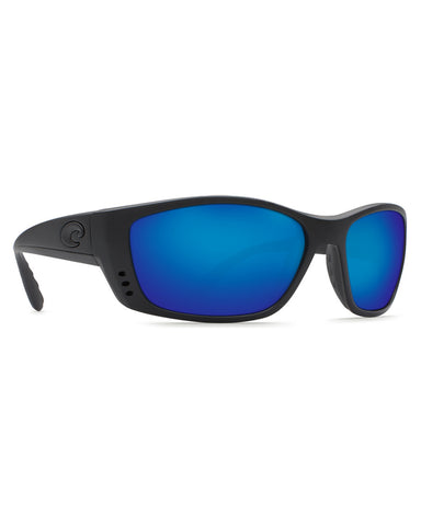 Fisch Blue Mirror Sunglasses