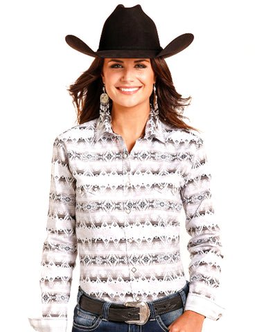 Womens Snap Up Western Shirt