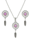 Dreaming In Pink Opal Jewelry Set
