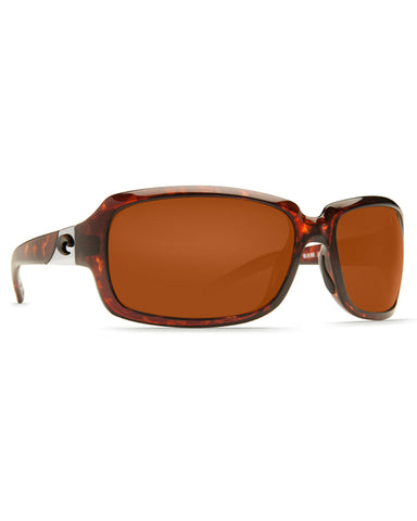 Isabela Copper Mirror Sunglasses - Polorized