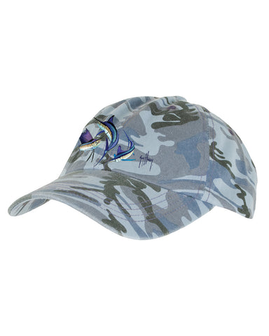 Guy Harvey's Grand Slam Ball Cap - Camo