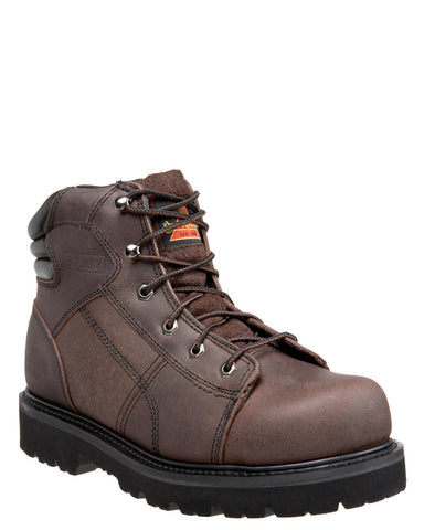 "Men's American Heritage 6"" Steel-Toe Lace-Up Boots"