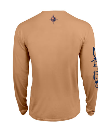 Mens Captain SLX Long Sleeve T-Shirt - Sunrise