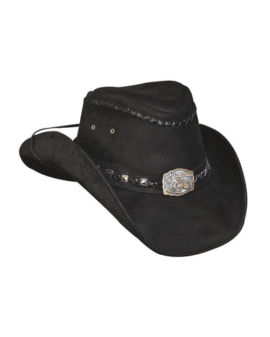 Mens Thunder Struck Leather Hat