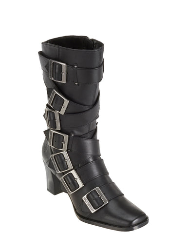 "Womens Leslie 13"" Motorcycle Boots"