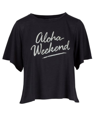 5e321704f21d Salt Life Women's Aloha Weekend Slub T-Shirt