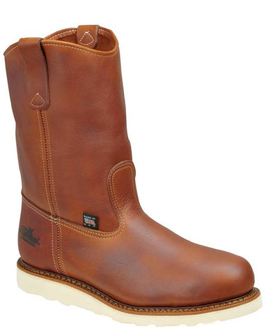 Mens American Heritage Steel-Toe Wedge Pull-On Boots