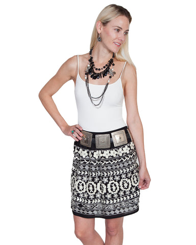 Womens Embroidered Skirt