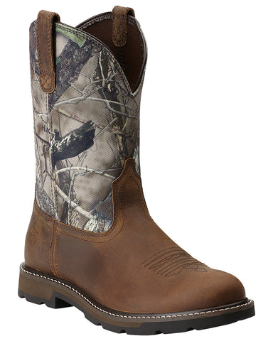 Men's Groundbreaker Pull-On Boots - Camo