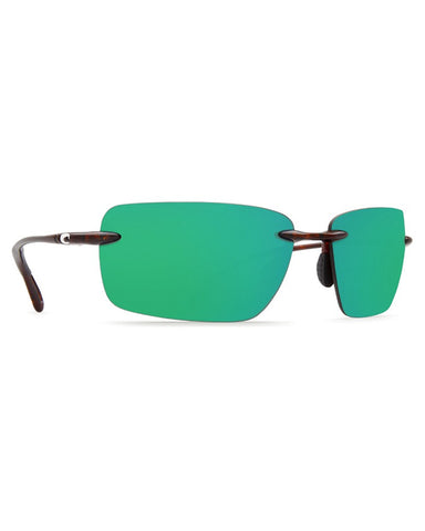 Gulf Shore Green Mirror Sunglasses