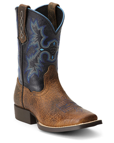 Kids Tombstone Boots - Earth/Black