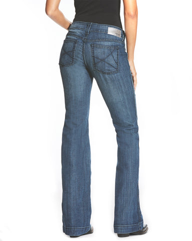 Womens Ella Bluebell Trouser Jeans
