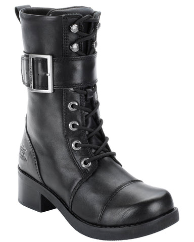 "Womens Jammie 8"" Lace-Up Boots"