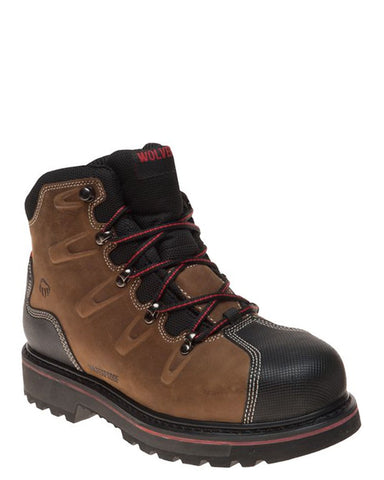 "Mens Hacksaw 6"" Lace-Up Boots"