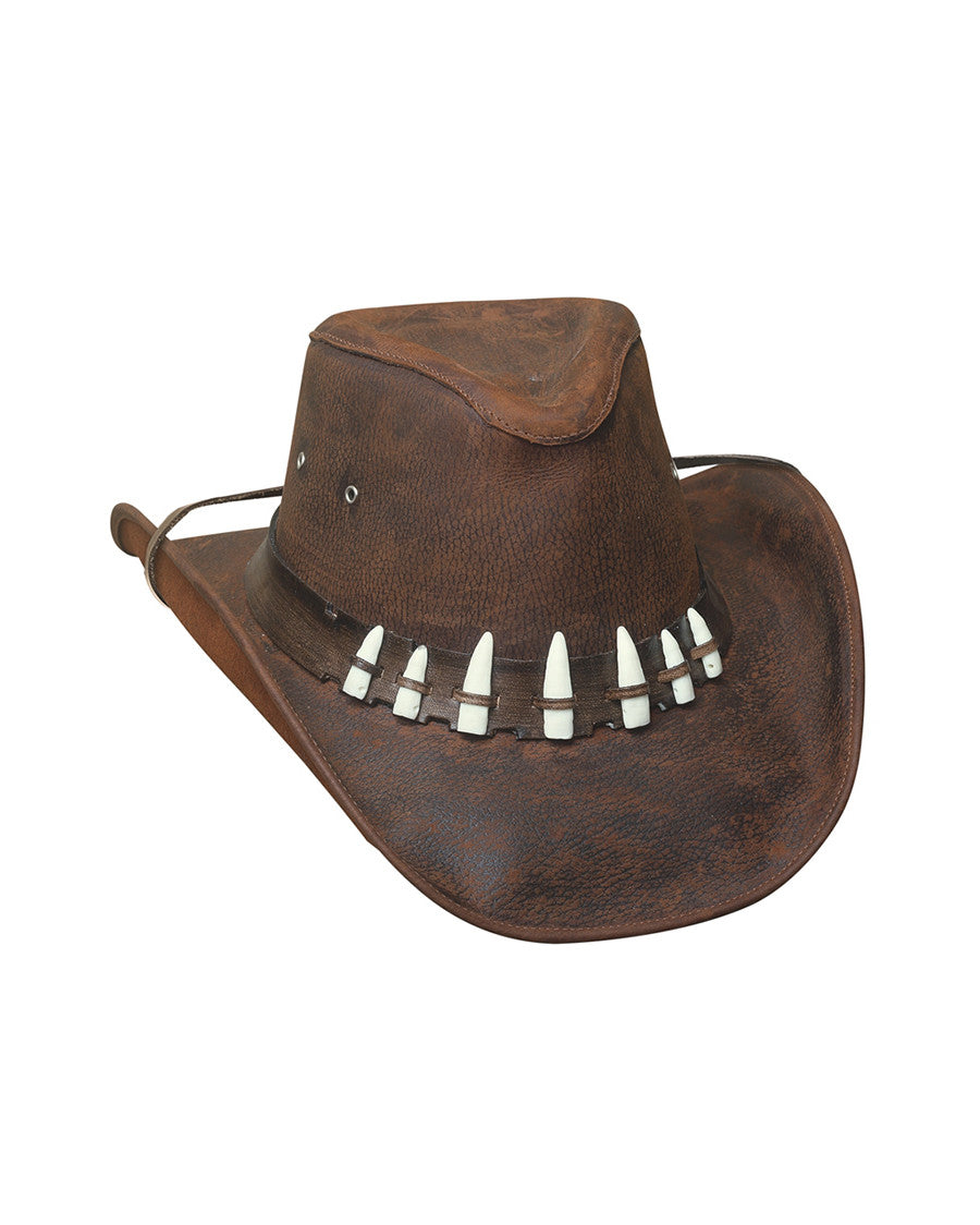 0d22fdddb4a Have a question  Give us a call at 386-255-0455. Bullhide Spiffy Leather Hat