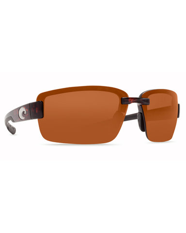 Galveston Copper Mirror Sunglasses