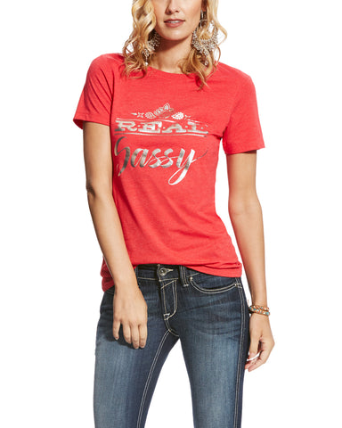Women's REAL Sassy T-Shirt