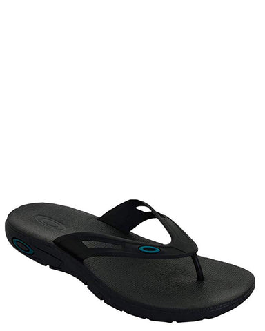 Men's Ellipse Flip Sandals - Black