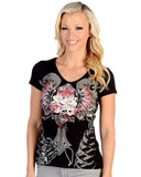 Women's Freedom Rose T-Shirt